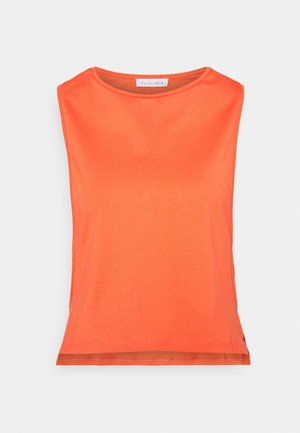 CROPPED TANK - Top - orange