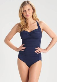 Seafolly - TWIST BANDEAU MAILLOT - Swimsuit - indigo - 1