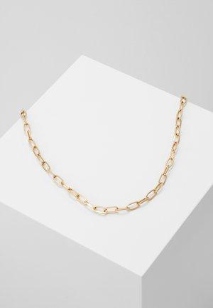 ELONGATED LINK NECKLACE - Náhrdelník - gold-coloured
