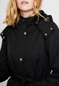 Danefæ København - BORNHOLM RAINCOAT - Waterproof jacket - black - 7