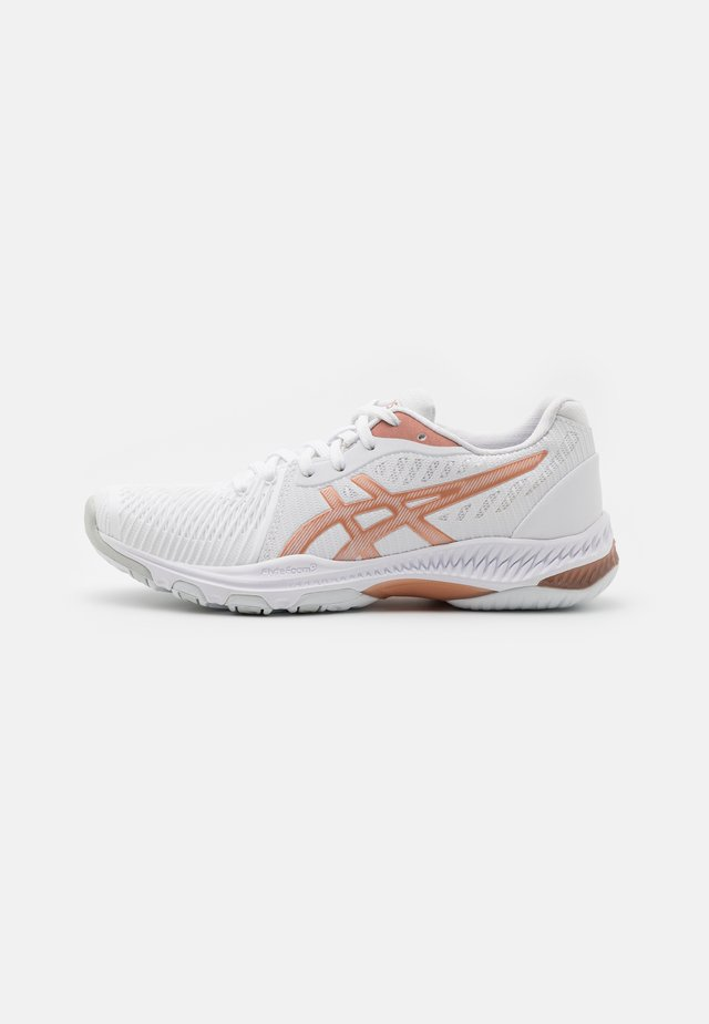 NETBURNER BALLISTIC - Volleybalschoenen - white/rose gold