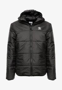 adidas Originals - ADICOLOR THIN PADDED BOMBERJACKET - Vinterjakker - black - 3
