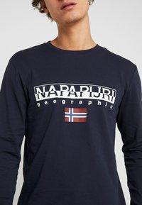 Napapijri - SGREEN LS  - Pitkähihainen paita - blu marine - 5