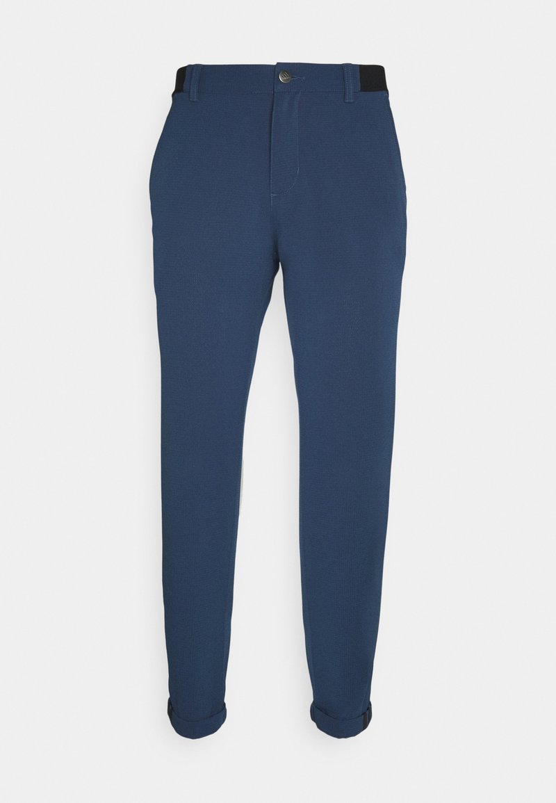 adidas Golf - PIN ROLL PANT - Trousers - crew navy
