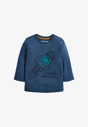 ROCKET - Long sleeved top - blue