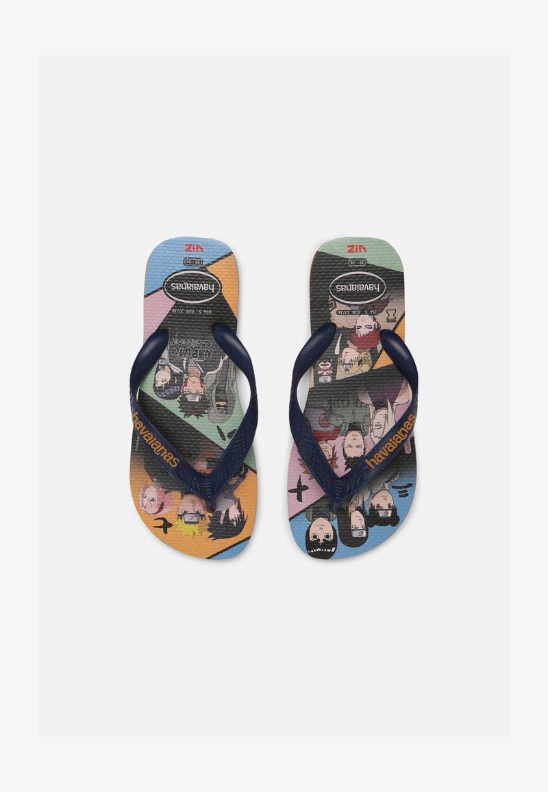 Havaianas - NARUTO UNISEX - T-bar sandals - orange