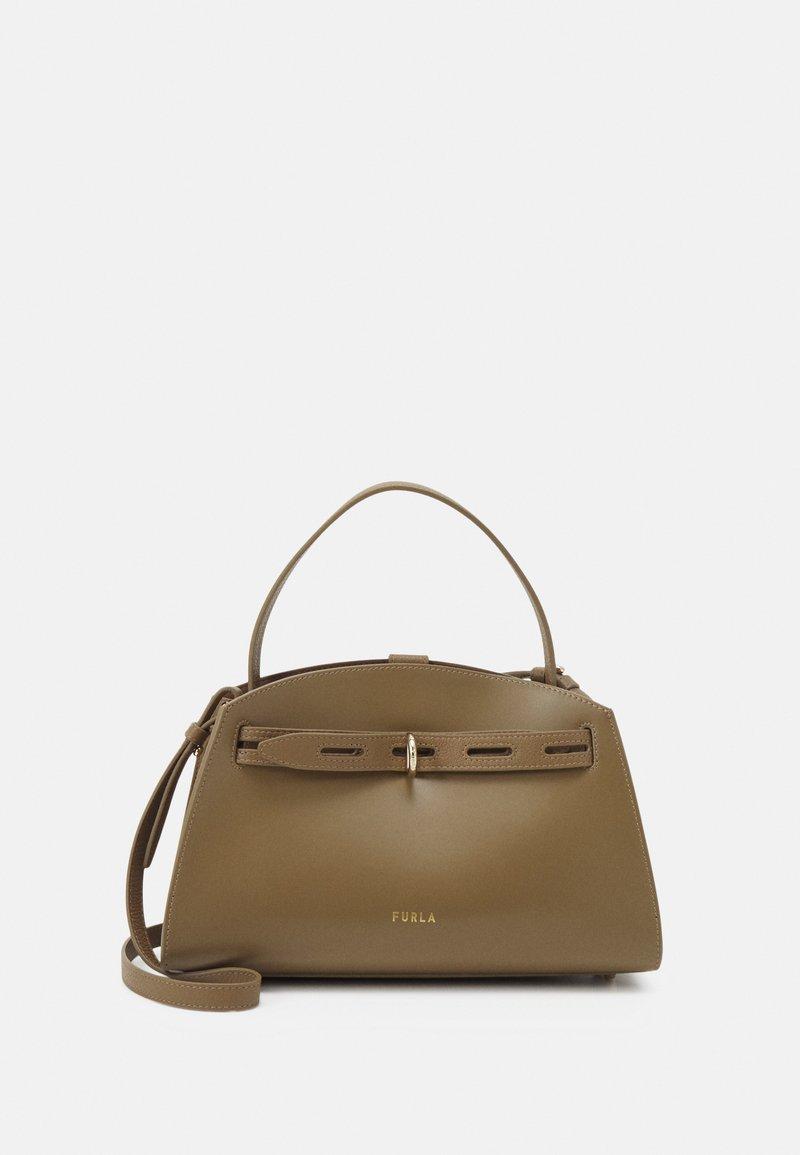 Furla - MARGHERITA TOP HANDLE - Handbag - fango