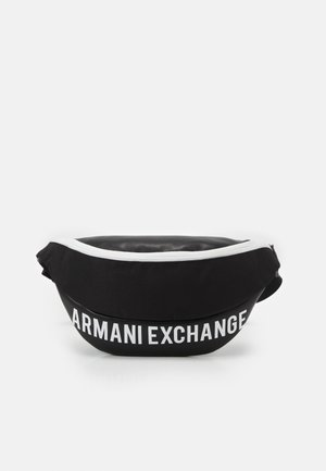 MIX CONTRAST WAISTBAG UNISEX - Bum bag - black/white