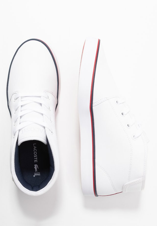 AMPTHILL  - High-top trainers - white/navy/red
