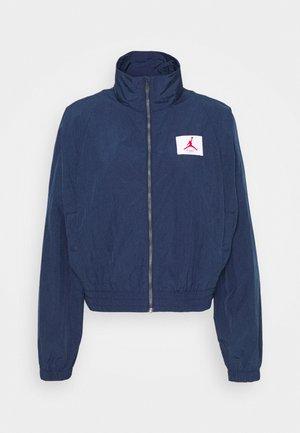 Summer jacket - navy/desert berry