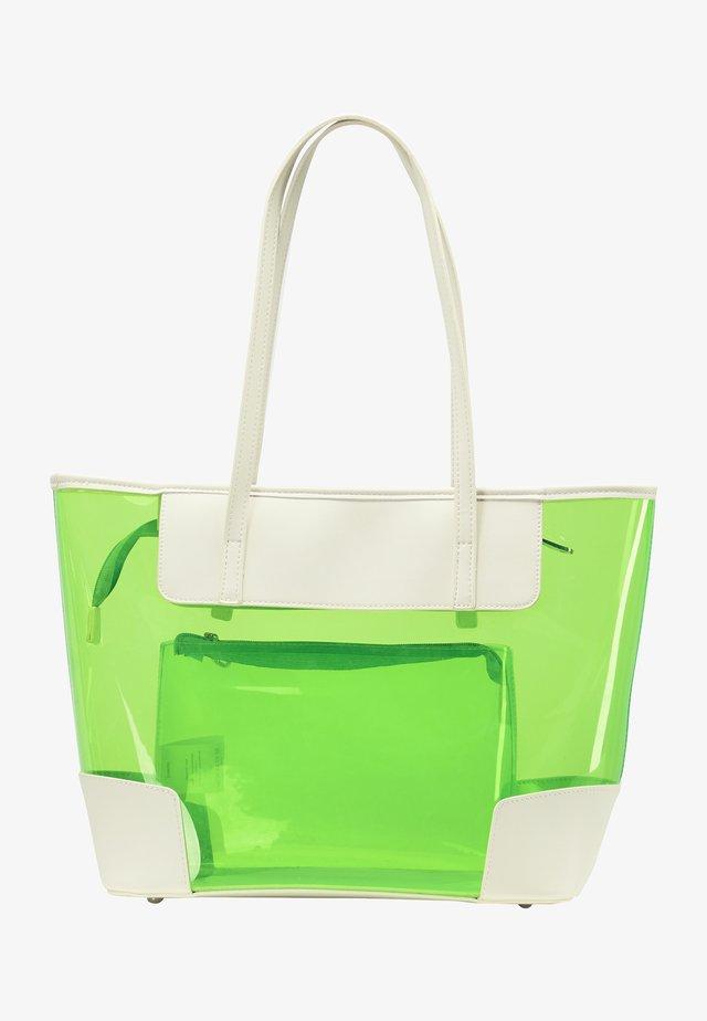 Cabas - neon grün