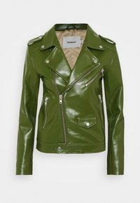 Deadwood - RIVER CACTUS - Faux leather jacket - green - 4