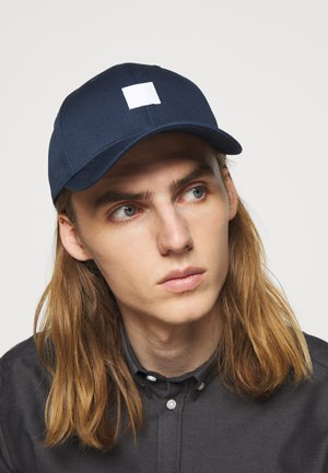 PIECE BASEBALL - Cap - dark navy/light blue