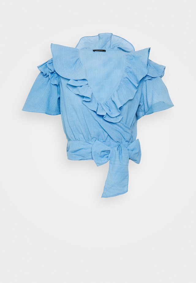 TWOSS MAVI - Blouse - blue