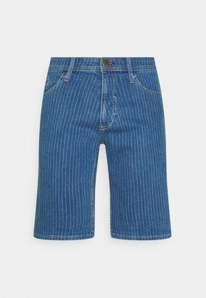 Denim shorts - denim light blue