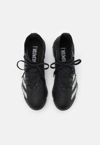 adidas Performance - PREDATOR FREAK .3 TF UNISEX - Astro turf trainers - core black/footwear white - 3