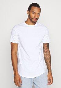 River Island - 5 PACK - Basic T-shirt - pink/white/grey/dark grey/black - 1