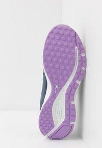 Skechers Performance - GO RUN CONSISTENT - Neutral running shoes - blue/purple - 4