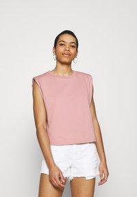 Lindex - Basic T-shirt - light pink - 0