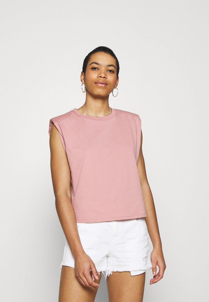 Lindex - Basic T-shirt - light pink