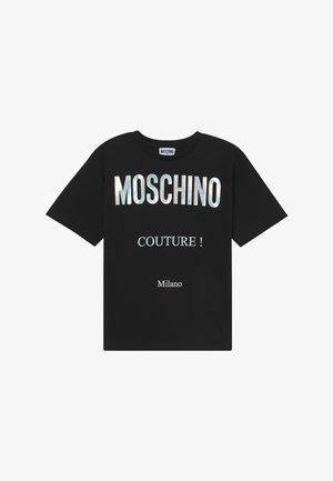 MAXI OVERSIZE - T-Shirt print - black