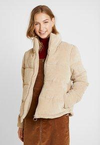 ONLY - ONLCOLE PADDED JACKET - Winter jacket - beige - 0