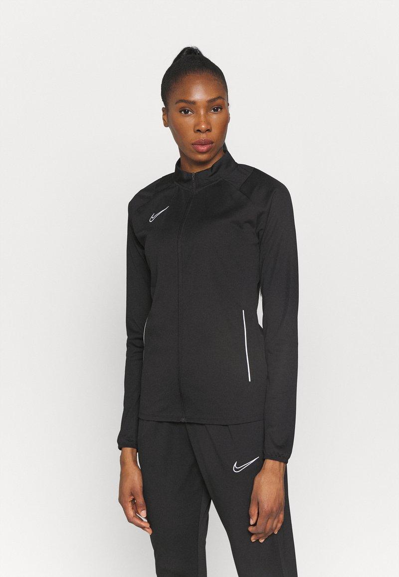Nike Performance - ACADEMY 21 TRACKSUIT - Tuta - black/white