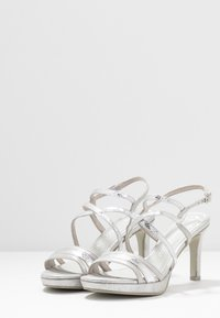Marco Tozzi - High heeled sandals - silver - 4
