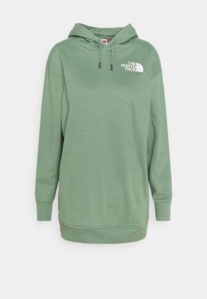 OVERSIZED HOODIE - Sweatshirt - laurel wreath green