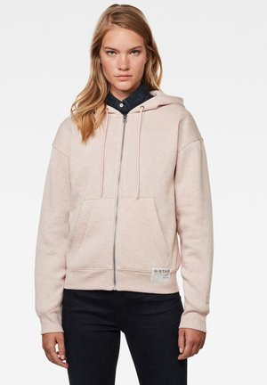 PREMIUM CORE HOODED ZIP THRU - Zip-up hoodie - pyg htr