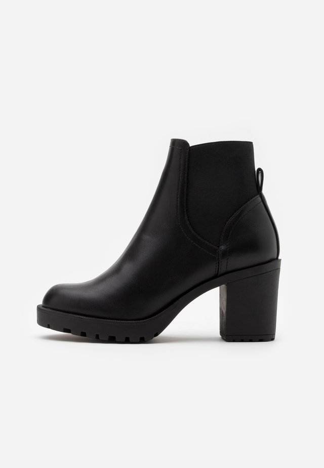 ONLBARBARA BASIC CHELSEA BOOTIE  - Bottines - black