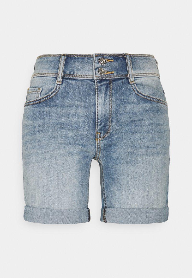 TOM TAILOR - ALEXA BERMUDA - Jeans Short / cowboy shorts - random bleached blue denim