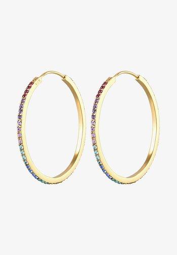 GLASS CRYSTAL - Boucles d'oreilles - gold-coloured
