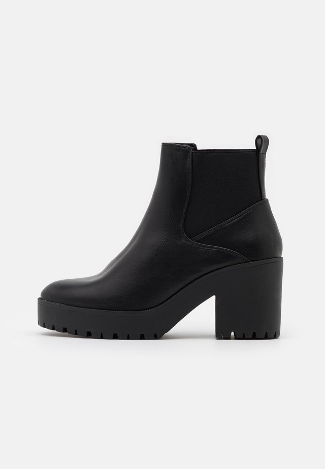 CYBIL CHELSEA CHUNKY - Ankle boot - black