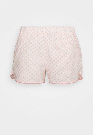 SUM POPLIN SHORT - Shorts - white/coral