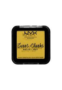 Nyx Professional Makeup - SWEET CHEEKS CREAMY POWDER BLUSH MATTE - Blusher - 11 silence is golden - 1