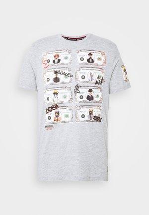 MYTHICAL - Print T-shirt - light grey