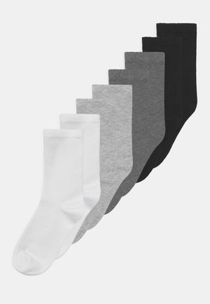 NKNFANO 8 PACK UNISEX - Socks - bright white