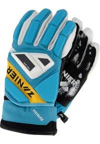 Zanier - Gloves - türkis-gelb - 3