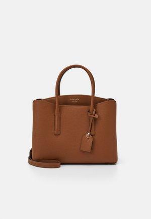 MARGAUX LARGE SATCHEL - Across body bag - warm gingerbread