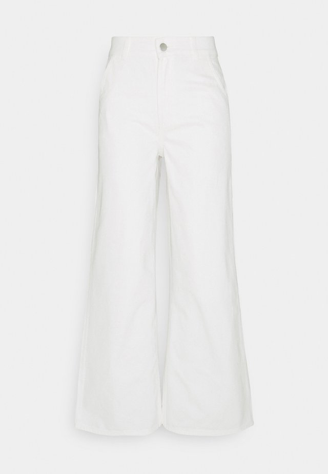 CARLOTTA - Flared jeans - cream