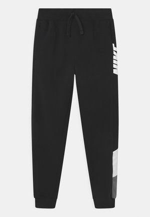 CORE AMPLIFY  - Tracksuit bottoms - black/white/smoke grey