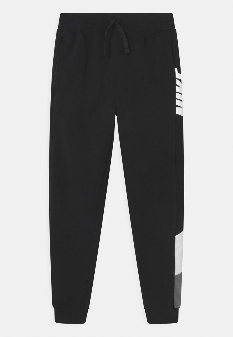 Nike Sportswear - CORE AMPLIFY  - Pantalon de survêtement - black/white/smoke grey