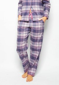 Cyberjammies - Pyjama bottoms - lilac chks - 0