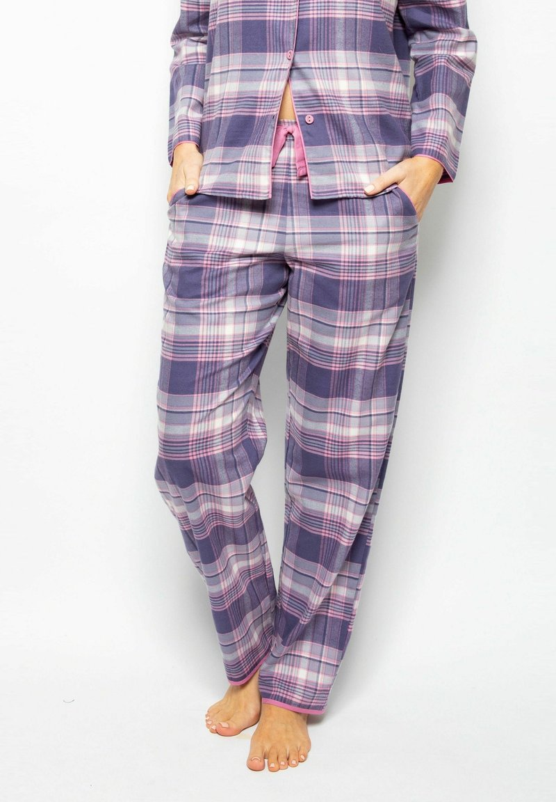Cyberjammies - Pyjama bottoms - lilac chks