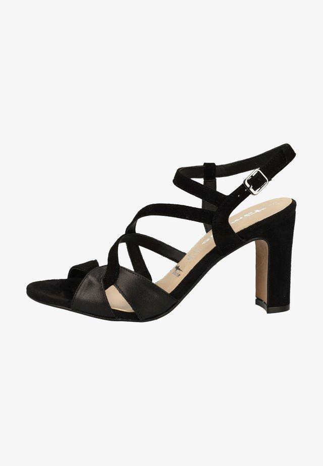SANDALEN - Korolliset sandaalit - black/blk lea. 13