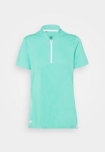 HEAT.RDY ZIP SHORT SLEEVE - Print T-shirt - acid mint
