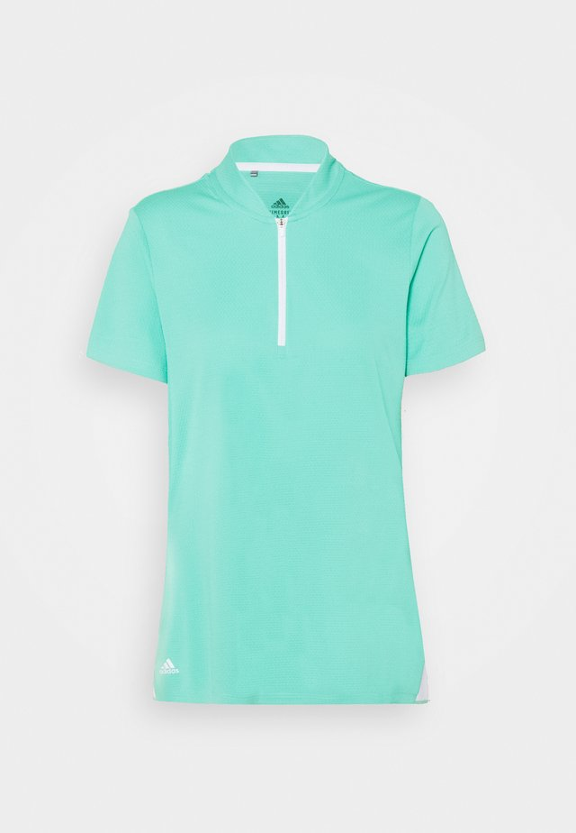 HEAT.RDY ZIP SHORT SLEEVE - T-shirt imprimé - acid mint