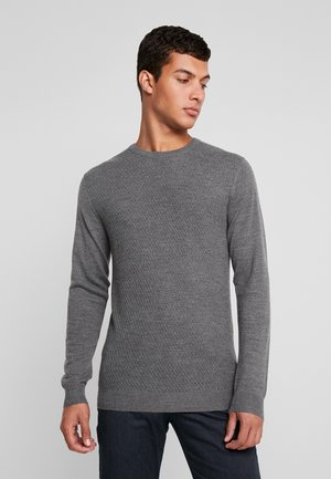 TRITON - Jumper - medium grey melange