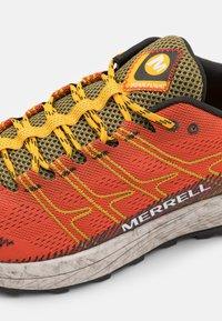 Merrell - MOAB FLIGHT - Trail running shoes - tangerine - 5